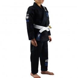 Kimono de JJB enfant Bõa Leão 2.0 - Noir | pour les clubs sur tatamis
