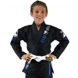 Kimono de JJB enfant Bõa Leão 2.0 - Noir | la pratique du jiu-jitsu bresilien