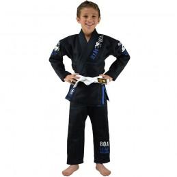 Kimono juvenil de JJB Bõa Leão - Preto