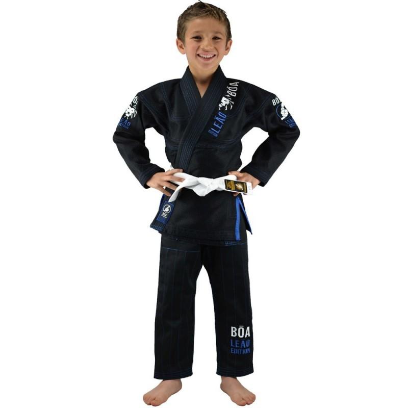 Kimono de JJB enfant Bõa Leão 2.0 - Noir | arts martiaux