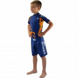 Rashguard enfant Leão - Bleu | Boa