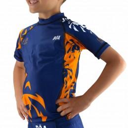 Rashguard enfant Leão - Bleu | arts martiaux
