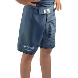 Pantaloncino MMA Bõa Jogo No chão Grigio Bambino