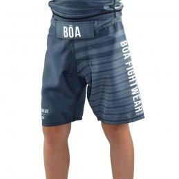 Fight Shorts Bõa Jogo No chão - Grey