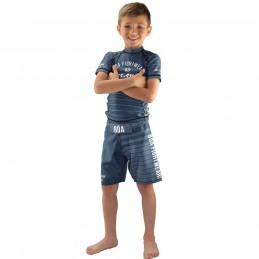Rashguard enfant Jogo no Chão - Gris | Boa