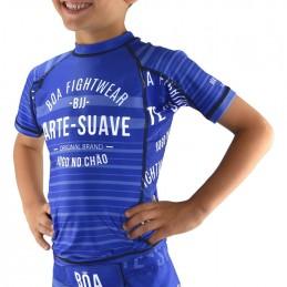 Rashguard enfant Jogo no Chão - Bleu | pour le sport
