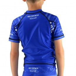 Rashguard enfant Jogo no Chão - Bleu | competition