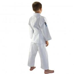 Kimono de Judo enfant Saisho - Blanc | pour les clubs sur tatamis