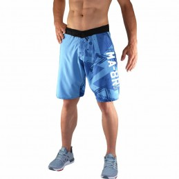 Bõa Training Short MA-8R Hellblaue | für Sport