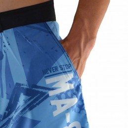 Bõa Training Short MA-8R Hellblaue | Sporthalle