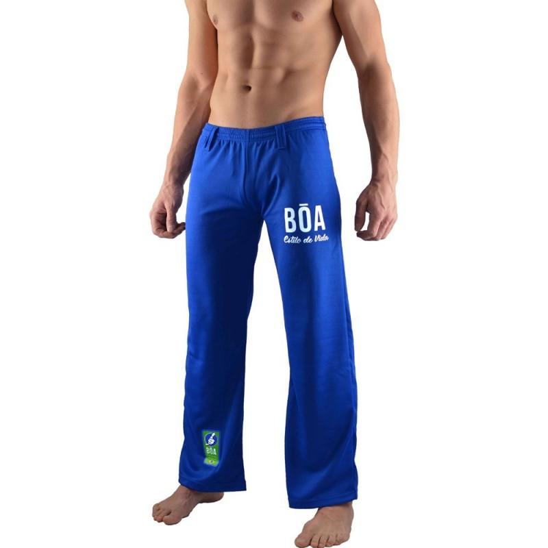 Boa брюки capoeira  синий