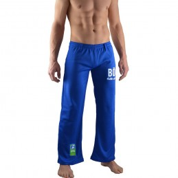 Pantalones Capoeira Bõa Azul