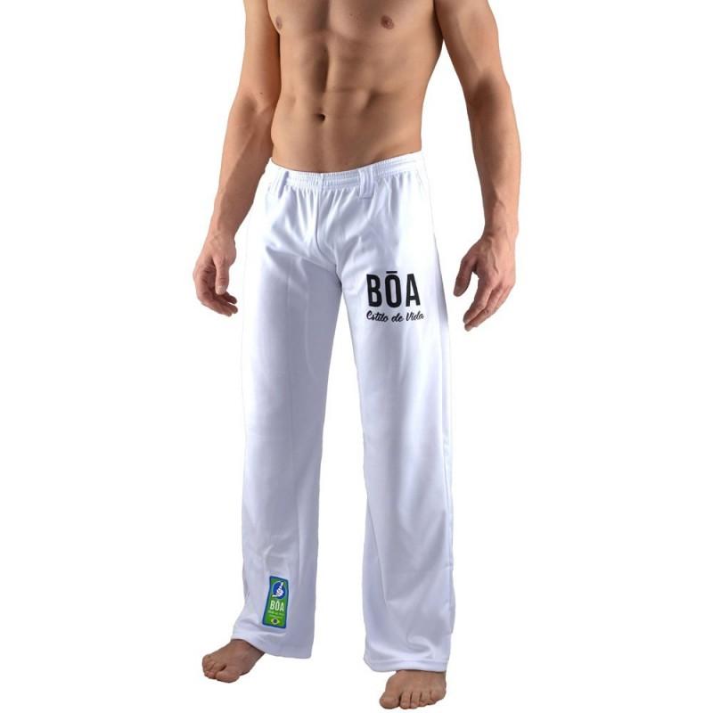 Pantalone Capoeira Bõa Bianco