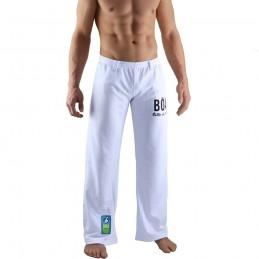Pantalon de Capoeira homme Estilo - Blanc | berimbau