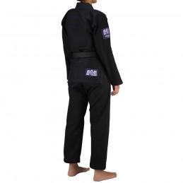 Kimono de JJB femme Superando - Noir | pour les clubs sur tatamis