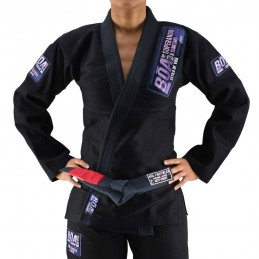 Kimono de JJB femme Superando - Noir | un kimono pour les clubs de jiu-jitsu bresilien