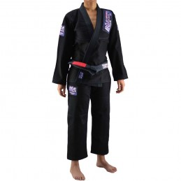 Kimono femme de JJB Bõa Superando - Noir