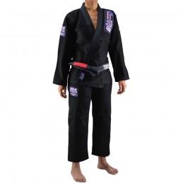 Kimono de JJB femme Superando - Noir | la pratique du jiu-jitsu bresilien