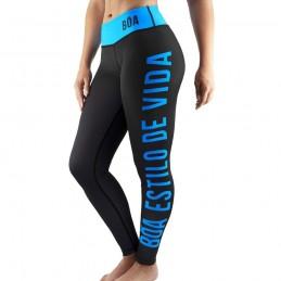 Legging Femme Bõa Estilo de Vida - Bleu