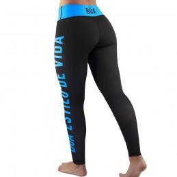 Leggings Mujer Bõa Estilo De Vida - Azul | para fitness