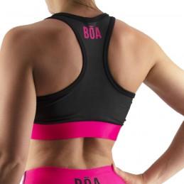 Sujetador Deportivo Mujer Bõa Estilo De Vida - Rosa | para fitness