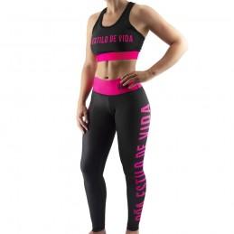 Brassière de sport femme Estilo de Vida - Rose   pour le fitness