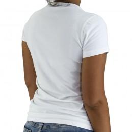 Bõa T-shirt Donna Capoeira Luta Danca - Bianco