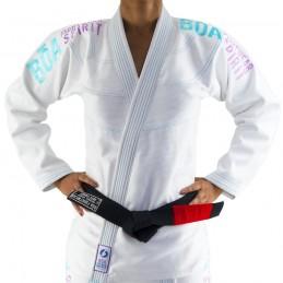 Bjj Gi Kimono Bõa Tudo Bem V2 Mujer - Blanco | la práctica del jiu-jitsu brasileño