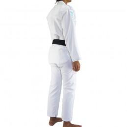 Bjj Gi Kimono Bõa Tudo Bem V2 Mujer - Blanco | deportes de combate