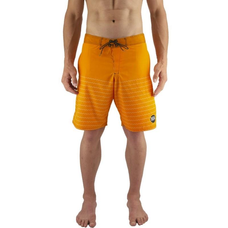 "Boardshorts Bõa Estilo 19"" - Orange | für den Strand"
