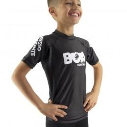Rashguard Niño Bõa Progresso - Gris | para deportes