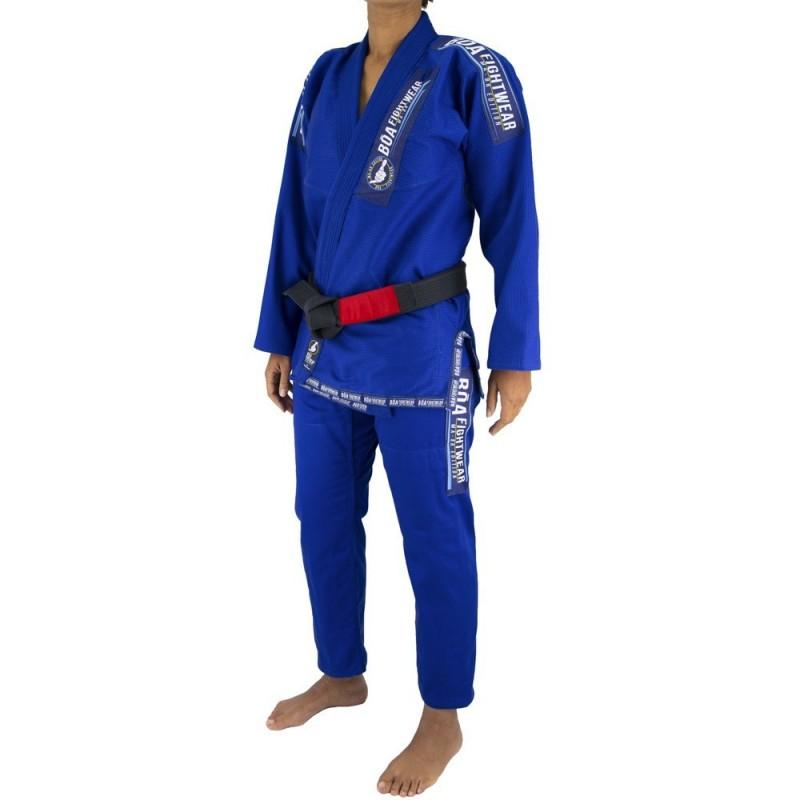 Bjj Gi Kimono Bõa MA-8R Mujer - Azul | artes marciales