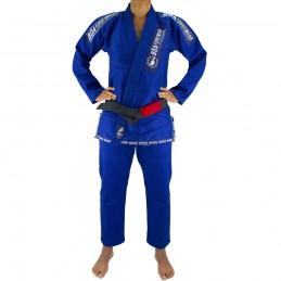 Kimono de JJB femme MA-8R - Bleu | la pratique du jiu-jitsu bresilien