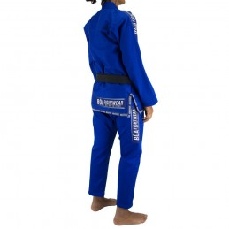 Kimono de JJB femme MA-8R - Bleu | un kimono pour les clubs de jiu-jitsu bresilien