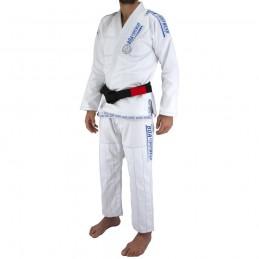 Kimono de JJB homme MA-8R - Blanc | la pratique du jiu-jitsu bresilien
