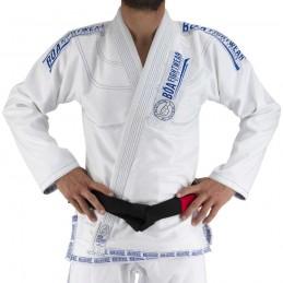 BJJ GI MA-8R - weiß - ein Kimono für brasilianische Jiu-Jitsu-Clubs