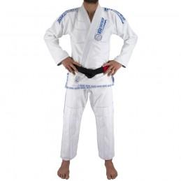 Kimono de JJB homme MA-8R - Blanc | pour les clubs sur tatamis