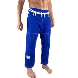 Pantalones de jiu-jitsu brasileño Bõa Jogo no Chão - Azul | la práctica del jiu-jitsu brasileño