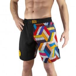 Pantalones mma Bõa Paranaue Ginga - Negro | de lucha