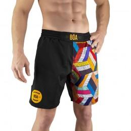 Pantalones mma Bõa Paranaue Ginga - Negro | para deportes