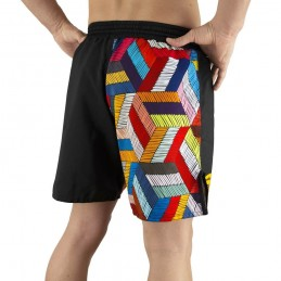 Pantalones mma Bõa Paranaue Ginga - Negro | Artes marciales