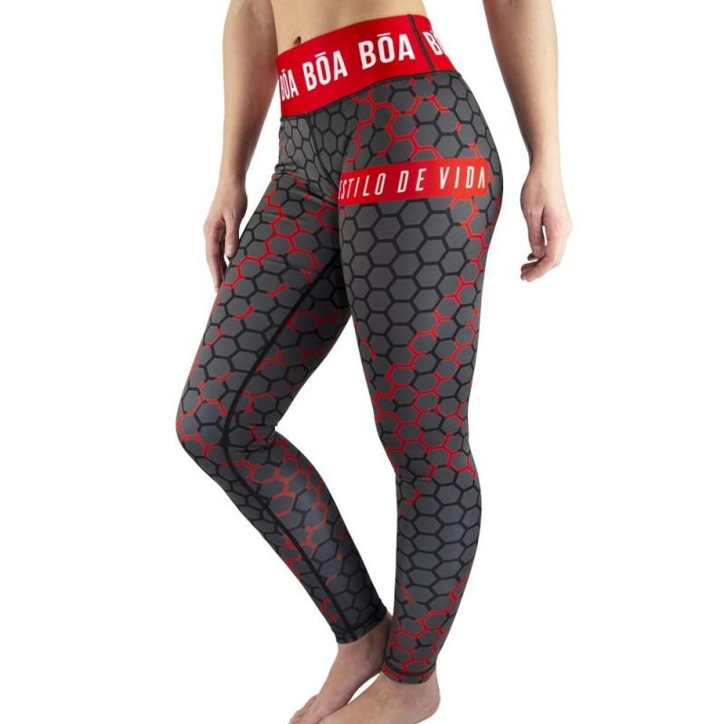 Leggings Donna Bõa Doce Fatal - Nero