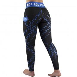 Legging femme Essencia - Bleu | pour le fitness