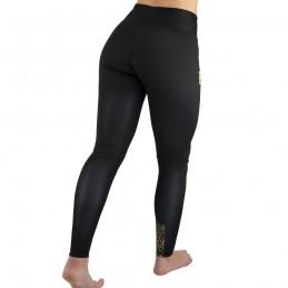 Leggings Mujer Bõa Princesa - Negro | para fitness