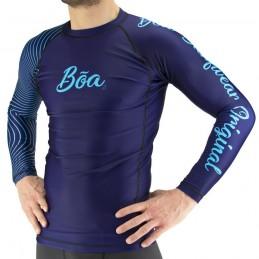 Rash Guard Bõa Tirando - Blau | zum surfen