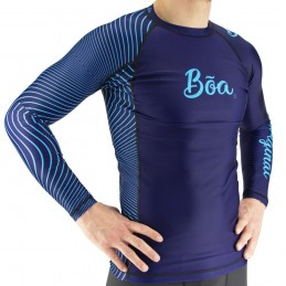 Rash Guard Bõa Tirando - Azul | para deportes acuáticos