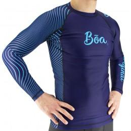 Rash Guard Bõa Tirando - Blau | für Wassersport