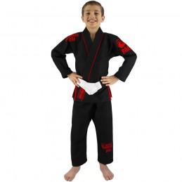 Bjj Gi Kimono Niño Mata Leão - Negro | artes marciales
