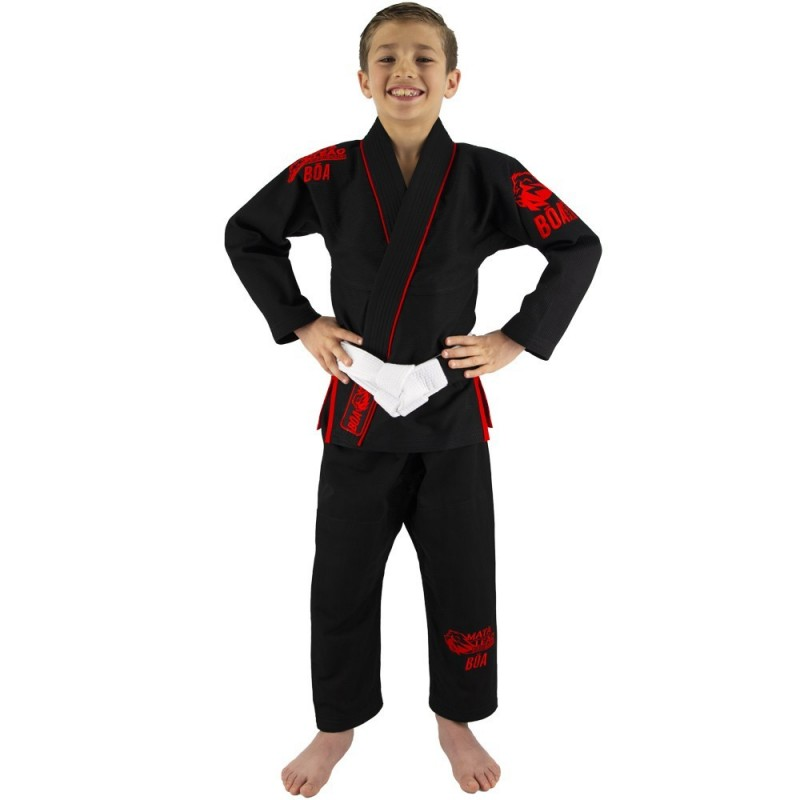 BJJ Gi Kimono kinder Mata Leão - Schwarz   Kampfkunst