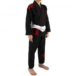 Bjj Gi Kimono Niño Mata Leão - Negro | un kimono para los clubes de jiu-jitsu brasileño